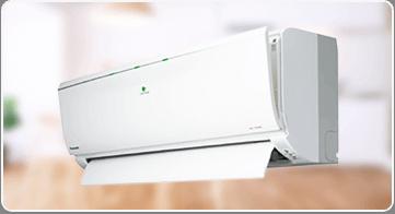 エアコン お部屋の空気をきれいにイメージ
